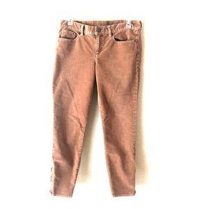 J Crew toothpick cord pants